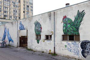 Dzia, Subsidence Street Art Festival, Ravenna, Italy. Photo credit Subsidence.