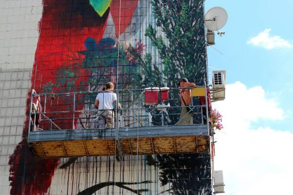 Ernesto Maranje. Art United Us. Kiev. Photo credit Вадим Булик