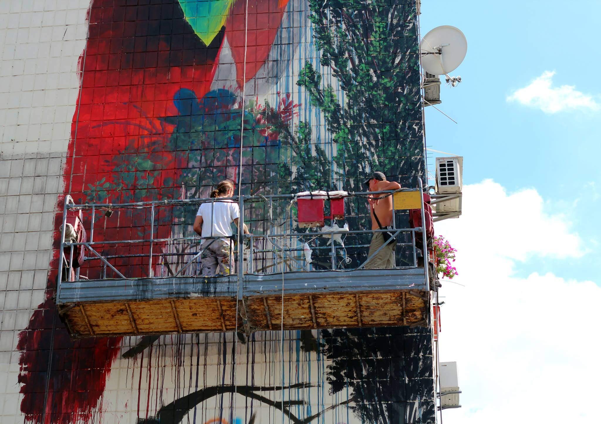 Interview with Street Artist Ernesto Maranje