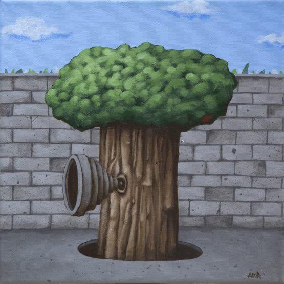 Ador - Tree Canvas