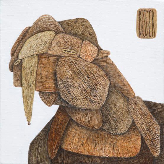 Bisser - Wood dude canvas