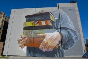 Case Maclaim - Street Art Jacksonville. Photo credit Iryna Kanishcheva
