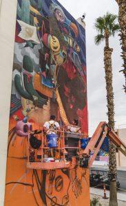 Dulk - Life is Beautiful Street Art Festival - Downtown Las Vegas - Photo credit JustKids