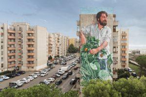 Fintan Magee, Festiwall, Street art festival, Sicily Photo credit Marcello Bocchieri