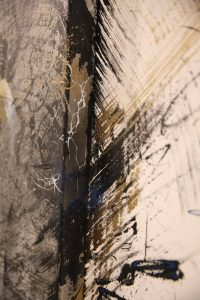 'Uncaged' by street artist Hua Tunan GraffitiStreet Underground 2016, London Photo Credit Hua Tunan