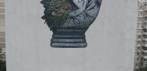 Olivier Bonnard, Seawalls: Murals for oceans, Kiev Ukraine
