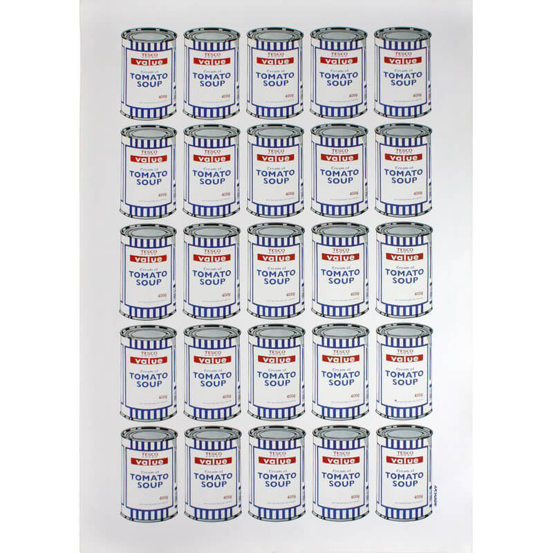 Banksy - Tesco Value Soup Cans
