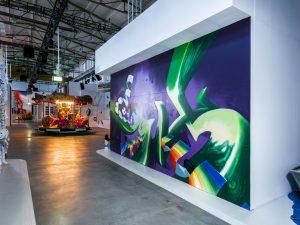 Loomit, Magic City, Street Art Exhibition, Dresden, Germany. Photo Credit Rainer Christian Kurzeder