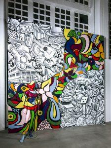 Ben Heine, Magic City, Street Art Exhibition, Dresden, Germany. Photo Credit Rainer Christian Kurzeder