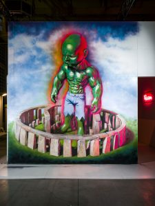 Ron English, Magic City, Street Art Exhibition, Dresden, Germany. Photo Credit Rainer Christian Kurzeder