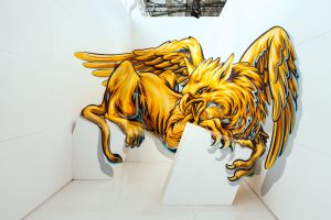 Truly, Magic City, Street Art Exhibition, Dresden, Germany. Photo Credit Rainer Christian Kurzeder