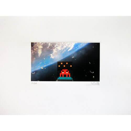 Space Invader - Art4Space 2D Print
