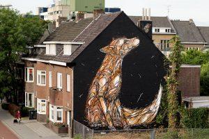 Dzia, Heerlen Murals, Street Art Netherlands. Photo Credit Henrik Haven