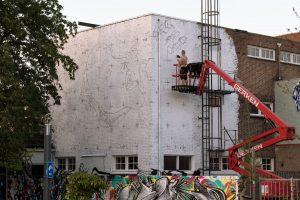 Bier and Brood, Heerlen Murals, Street Art Netherlands. Photo Credit Henrik Haven