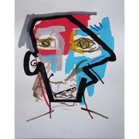 Art is Trash - Original on Paper #12 (2016)
