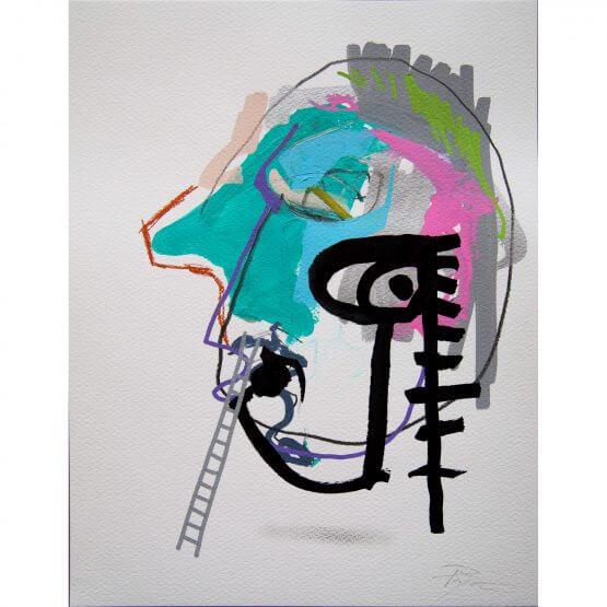 Art is Trash - Original on Paper #13 (2016)