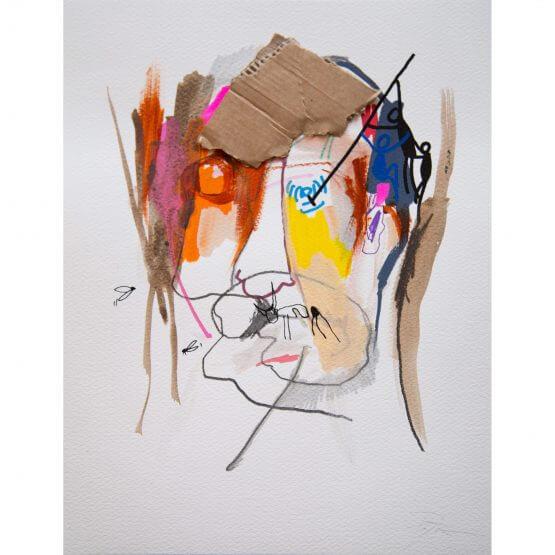 Art is Trash - Original on Paper #15 (2016)