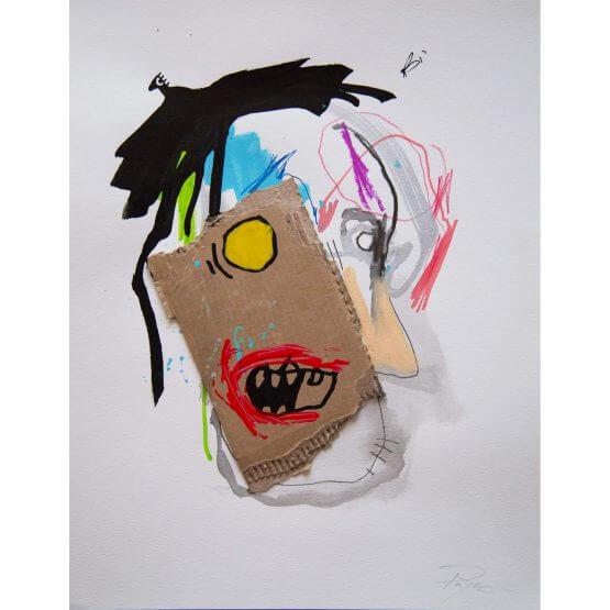Art is Trash - Original on Paper #5 (2016)