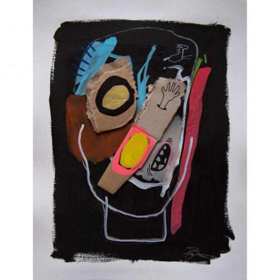 Art is Trash - Original on Paper #6 (2016)