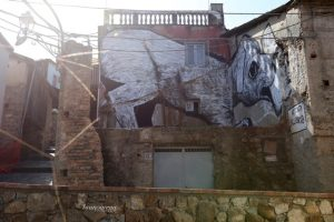 Collettivo FX, NOSTOI Fest, Street Art Festival, Gerocarne, Italy Photo Credit Bruno Arena