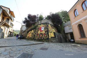 Luca Zamoc, NOSTOI Fest, Street Art Festival, Gerocarne, Italy Photo Credit Bruno Arena