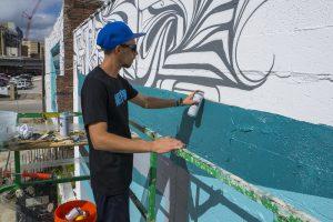 Astro, Art RePublic, Street Art Festival 2016, Jacksonville. Photo Credit Iryna Kanishcheva