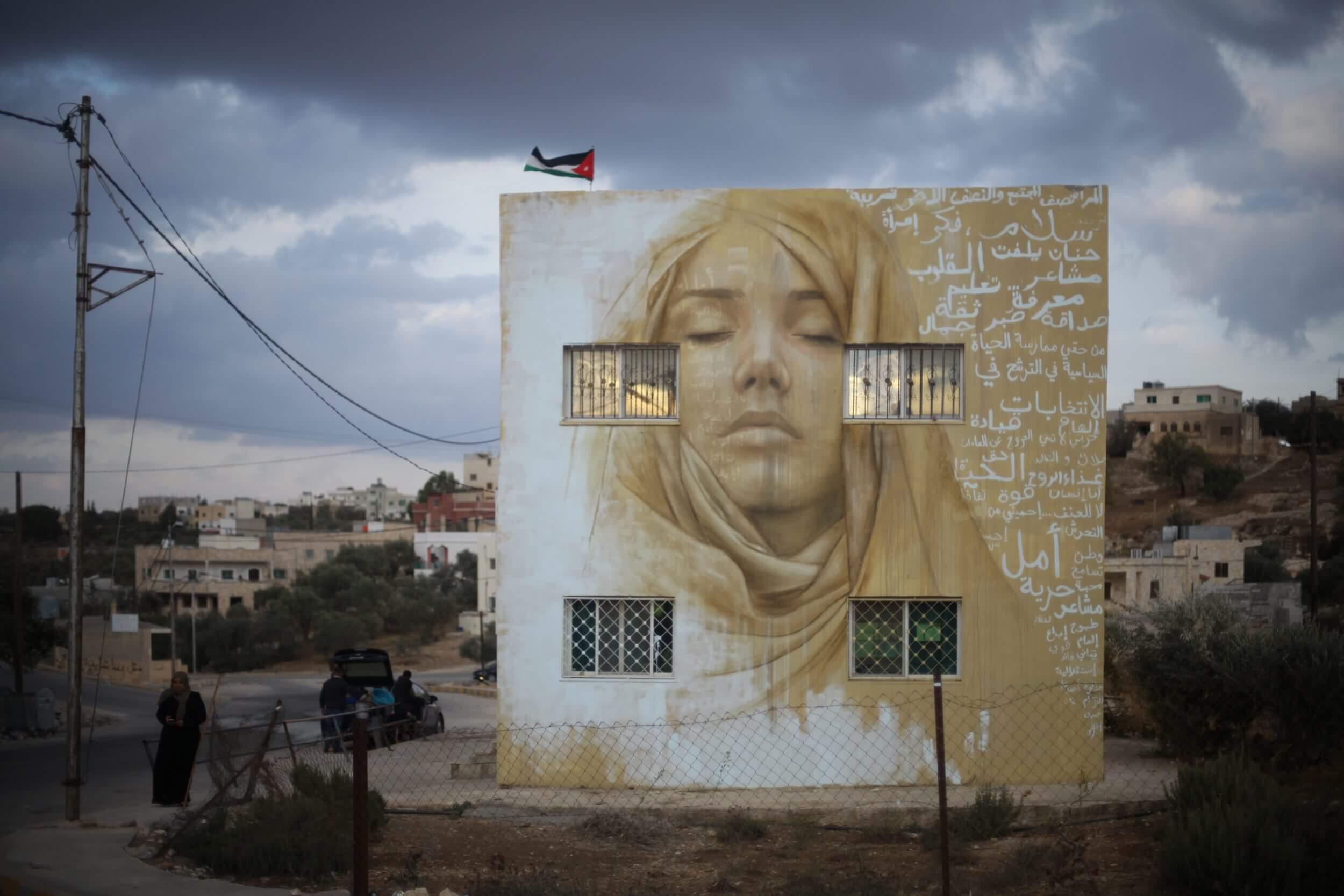 Jonathan Darby's Street Art Murals Inspire Jordan's Women, 2016