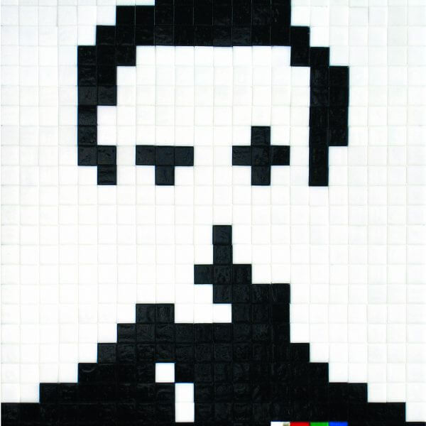Space Invader – Albino (Signed) Print