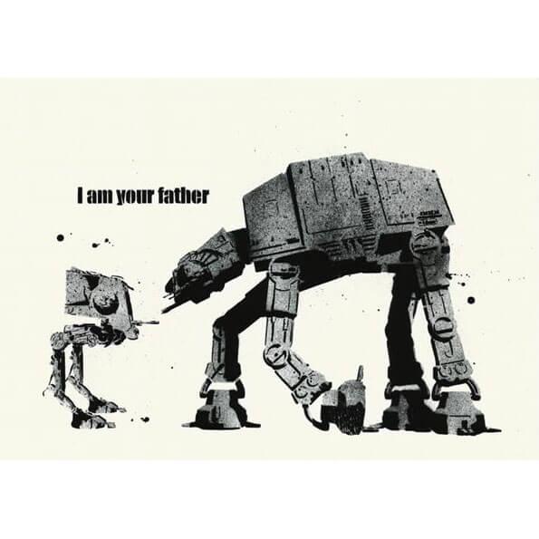 Dolk - I Am Your Father Print