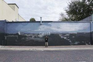 Axel Void, Gainesville Street art mural, 2017