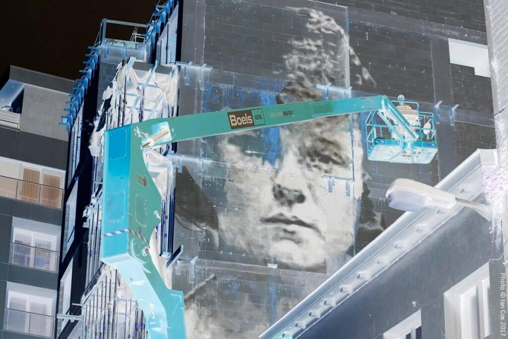 Bosoletti, The Crystal Ship Street Art Festival 2017, Photo Credit Ian Cox