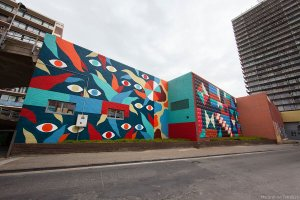 Hell O Collective, The Crystal Ship Street Art Festival 2017, Photo Credit Ian Cox