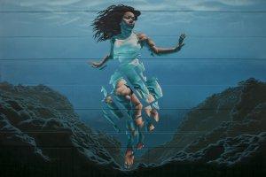 James Bullough, Seawalls: Artists for Oceans, Napier, NZ. Photo Credit Vinny Cornelli