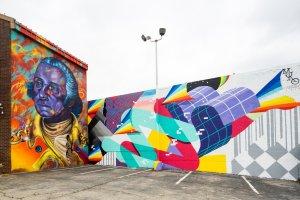 Madsteez and Muro, POW! WOW! Street Art Festival 2017, NoMa, Washington D.C. Photo Credit POW! WOW!