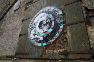 Nipper, Nuart Aberdeen Street Art Festival 2017. Photo Credit Ian Cox