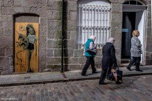 Herakut, Nuart Aberdeen Street Art Festival 2017. Photo Credit Brian Tallman
