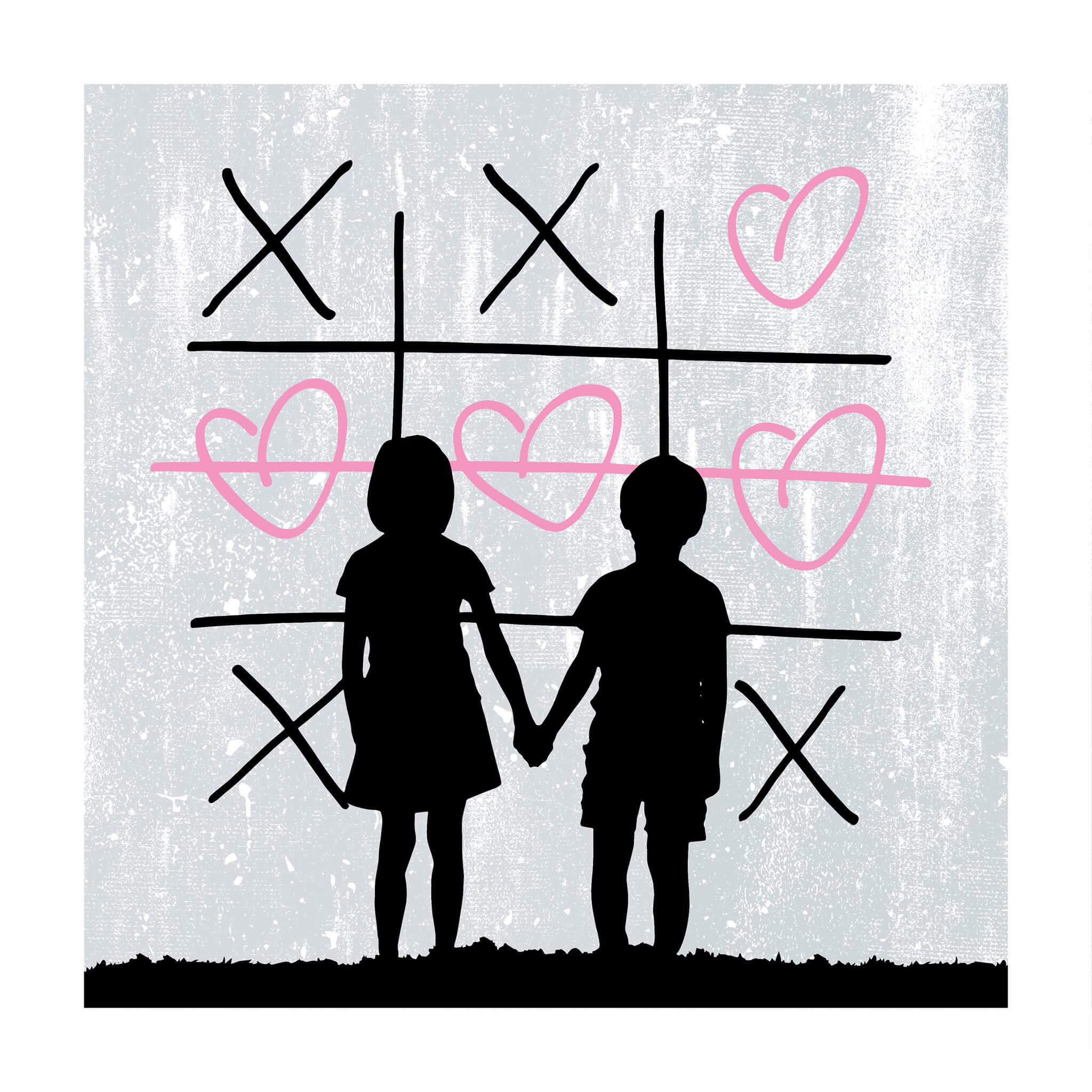 3F - XO (Pastel Pink) Print
