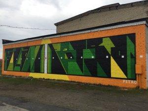 Aesthetics Group, Satka Street Art Festival, Russia 2017. Photo Credit Satka Street Art Festival / Fund Sobranie