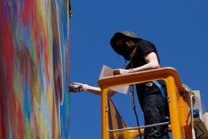 David Walker, Wall Street Art, Lieusaint, Paris. Photo Credit Mathgoth gallery