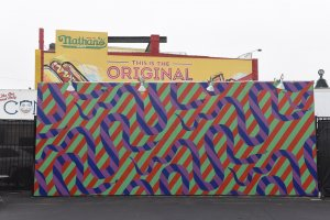 Jim Drain, Coney Art Walls, New York City 2017. Photo Credit Martha Cooper
