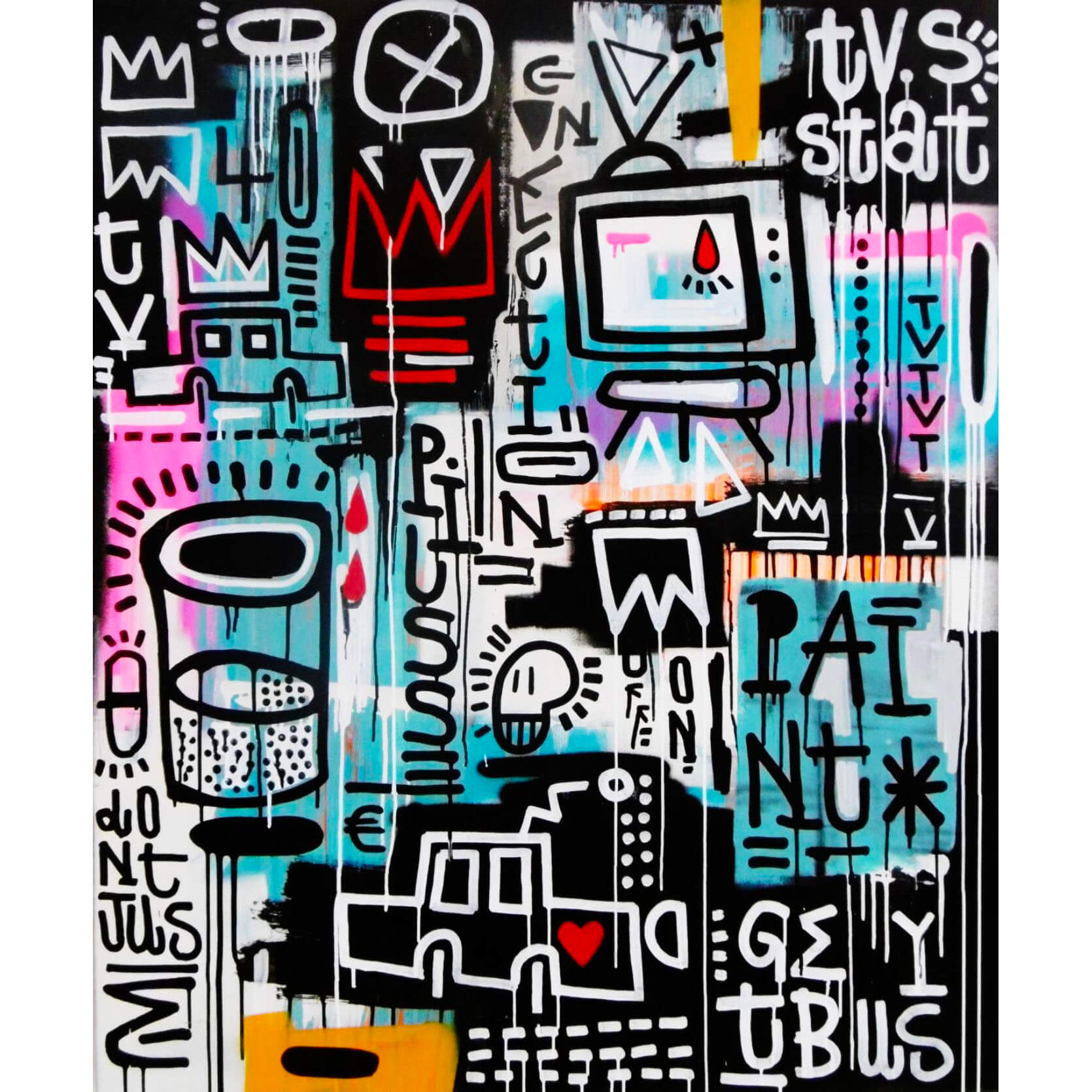 Joachim - Don't Use Drugs, Use Paint Canvas