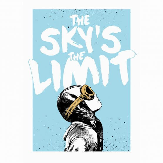 NME - The Sky's The Limit Print (Gold Edition)