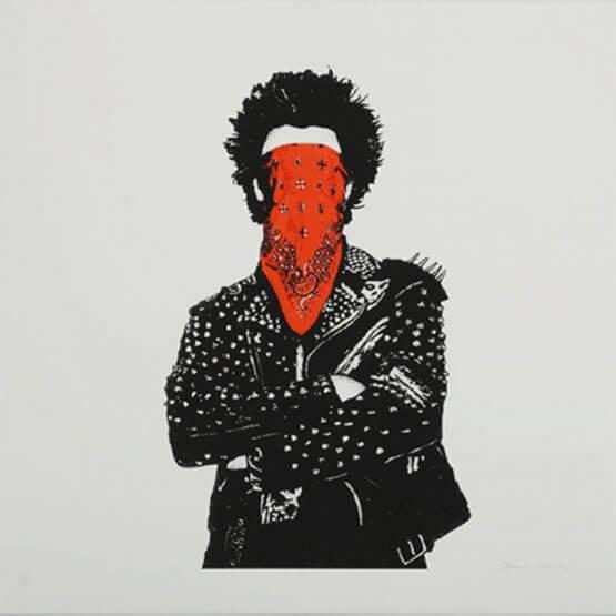 Dolk - Punk Print