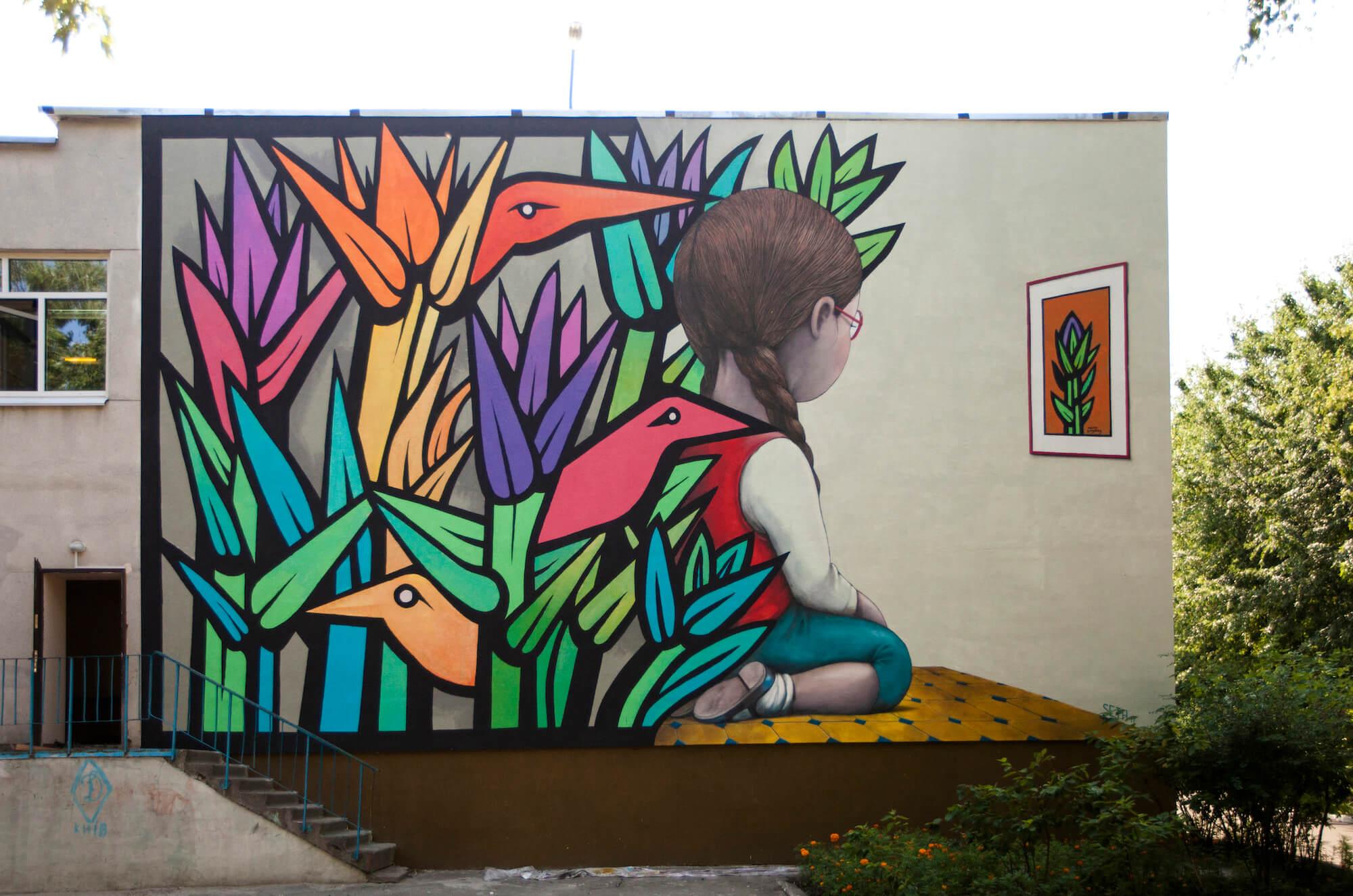 Audrey Hepburn Wall Mural Artist Jps Art T Street Art Artist And Street