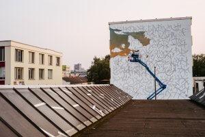 AEC Interesni Kazki, City Leaks, Urban Art Festival, Cologne Germany 2017. Photo Credit Robert Winter