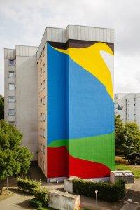 Elian Chali, City Leaks, Urban Art Festival, Cologne Germany 2017. Photo Credit Robert Winter.