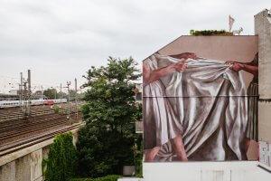 Hyuro, City Leaks, Urban Art Festival, Cologne Germany 2017. Photo Credit Robert Winter.