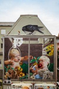 Innerfields, City Leaks, Urban Art Festival, Cologne Germany 2017. Photo Credit Robert Winter.