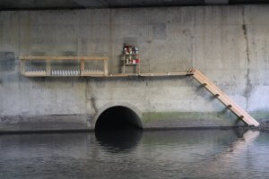 Vladimir Turner, City Leaks, Urban Art Festival, Cologne Germany 2017. Photo Credit Vladimir Turner.