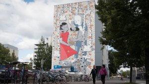 Millo,UPEA Street Art Festival, Finland. Photo Credit John Blafield.